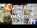 Gambar cover Cuphead - All Simple Difficulty Boss Intros & Knockout/Death Animations