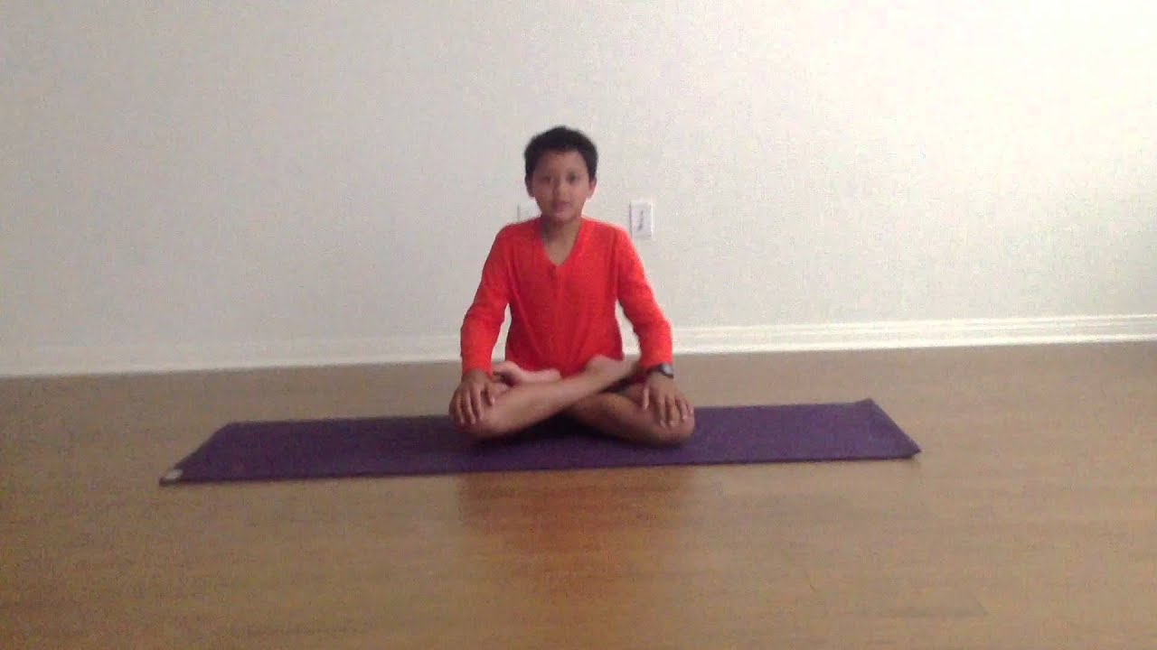 Here Is A Video Of Me Doing The Lotus Flower Pose I Am Also Doing