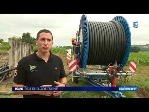 Des aides technologiques à l'irrigation pour les maïsiculteurs du Béarn