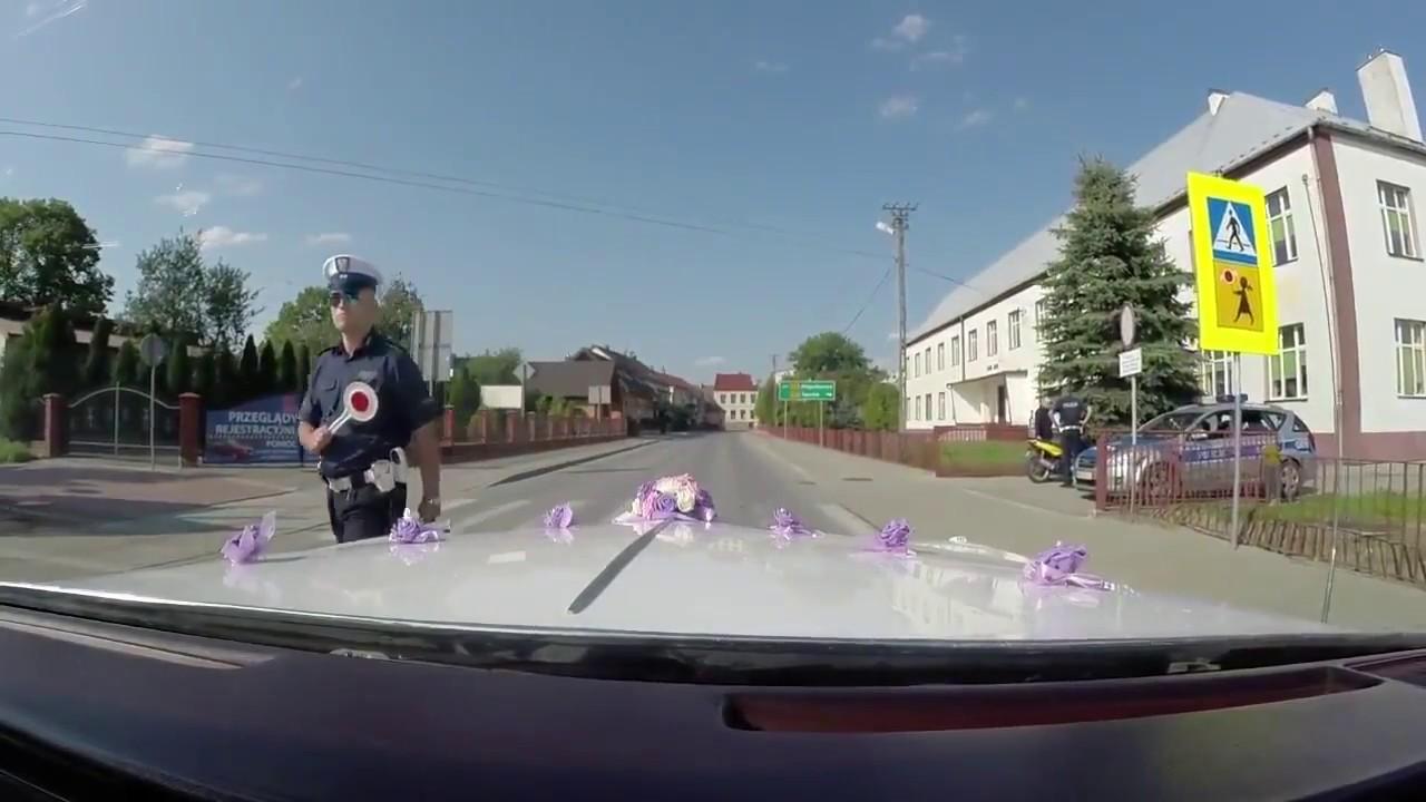 Wesele które skończyło się wielką porażką ! - Polska Policja i brama !