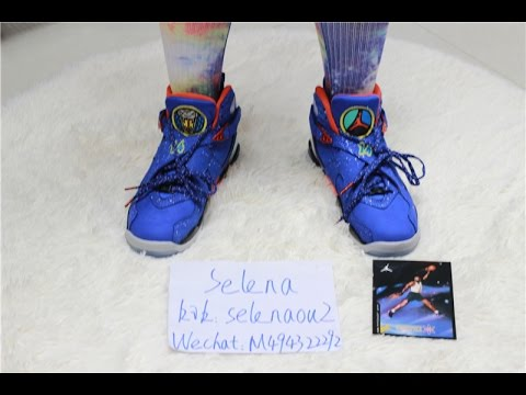 190b97b5f1c471 Air Jordan 8 VIII Doernbecher DB 8s on Feet - YouTube