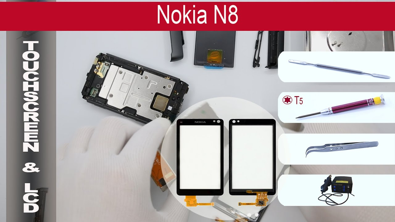 Download How to replace 🔧 📱 Digitizer & LCD Nokia N8-00 RM-596