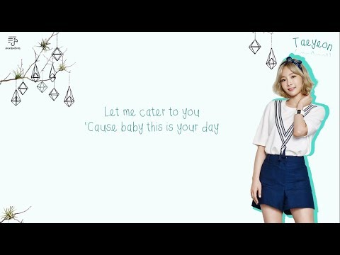 TaeTiSeo (TTS) 태티서 - Cater To You / Cater 2 U Color-Coded-English-Lyrics 가사  by xoxobuttons
