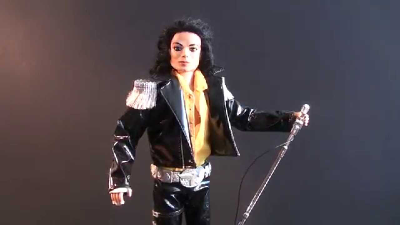 my michael jackson dolls bad era youtube