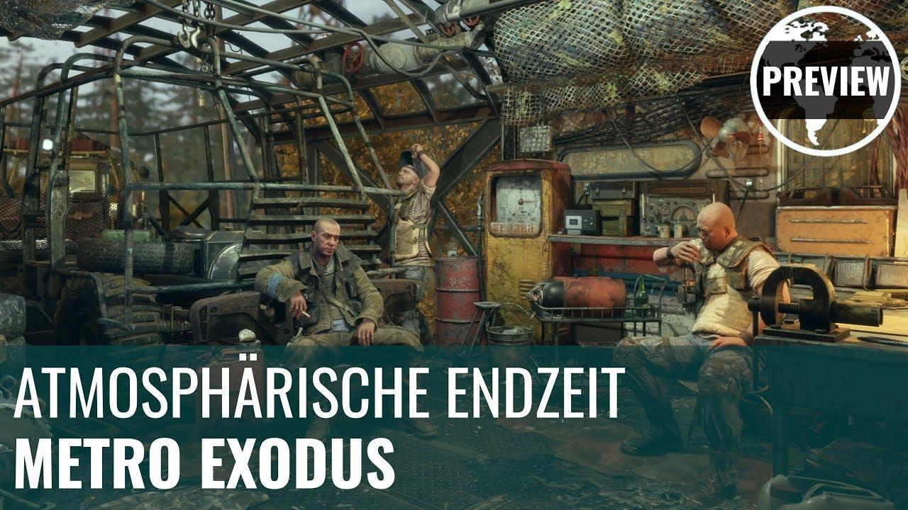 Metro Exodus in der Preview: Atmosphärische Endzeit (4K, German)