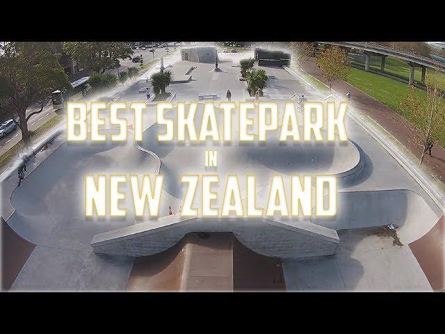 RIDING THE BEST SKATEPARK IN NEW ZEALAND!!!