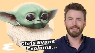 Chris Evans on Marvel, Trump Tweets and Baby Yoda  | Explain This | Esquire