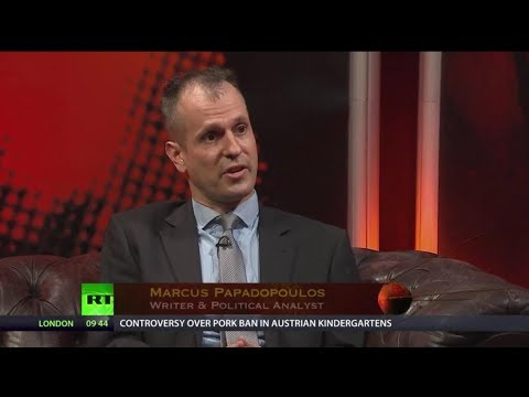 Dr Marcus Papadopoulos on RT's Sputnik discussing Syria, Iraq and Saudi Arabia
