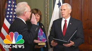 Tom Price Sworn In As New Health And Human Services Secretary | NBC News