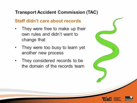 Records Management Network May 2016: Rolling out a records management project