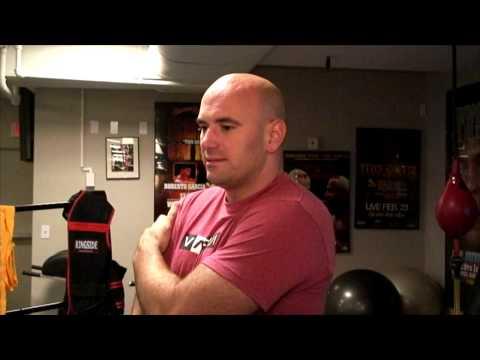 Dana White Prepares to Fight Tito Oritz Day 1