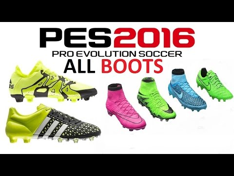 PES 2016 ALL BOOTS