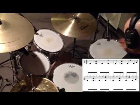 Journey, Don't Stop Believin, drum cover lesson