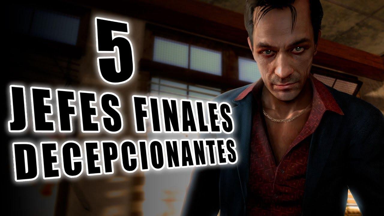 5 Jefes Finales de Videojuegos que Fueron Decepcionantes I Fedelobo