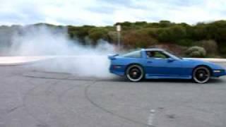 1986 C4 Corvette BurnOut