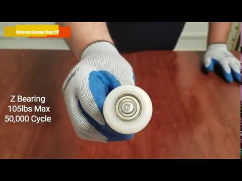 Garage Door Rollers The Differences Youtube