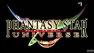 Phantasy Star Universe (XBox 360)   Playthrough Part 1