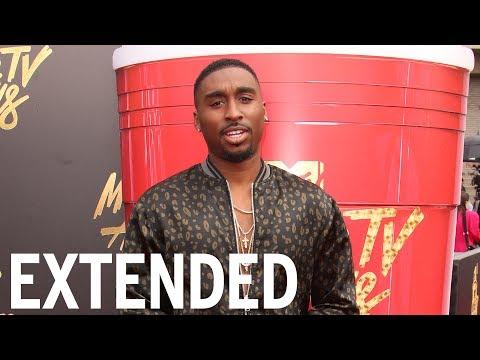 Demetrius Shipp Jr. Squashes Tupac Conspiracy Theories   EXTENDED