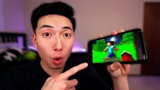 Playing Minecraft: Pocket Edition AFTER 2 YEARS!