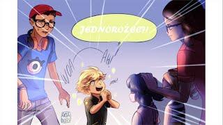 Miraculum komiksy - Ożenić się z Adrienem! / Adrienette
