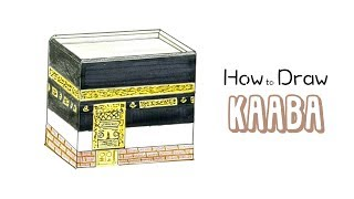 How to Draw The Kaaba