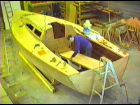 "The Building of ""Frosty Morn"" Section 3: Decking, Fitting Out, and Launching"