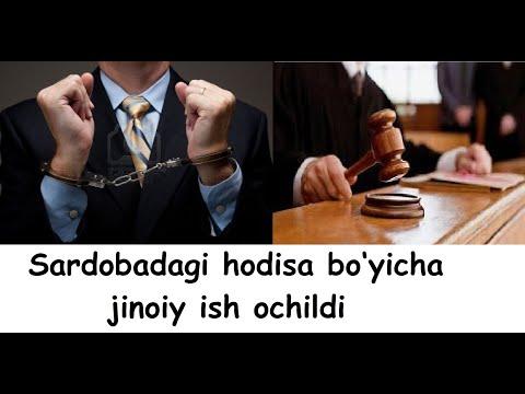 Sardobadagi Hodisa Bo'yicha Jinoiy Ish Ochildi - Сардобадаги ҳодиса бўйича жиноий иш очилди.