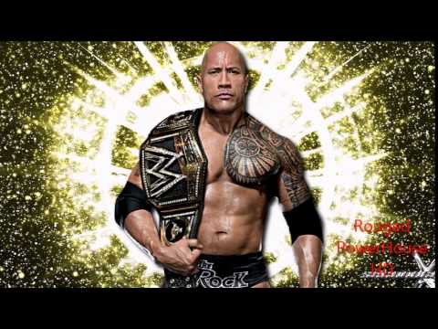 """WWE: """"Electrifying"""" ► The Rock 24th Theme Song"""