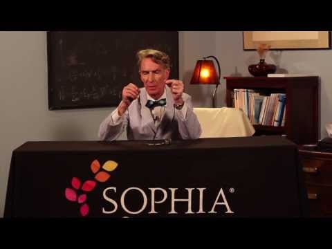Bill Nye the Science Guy Demonstrates How an Electromagnet Works