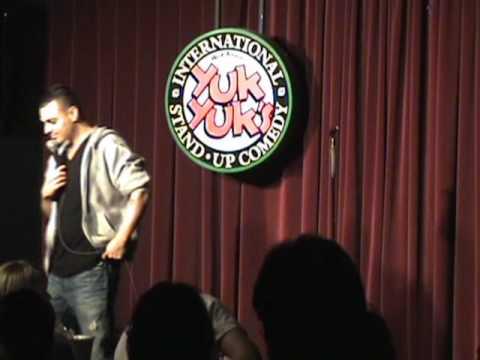 Comedian Reza Peyk @ Yuk Yuks. May 2009. Part 1