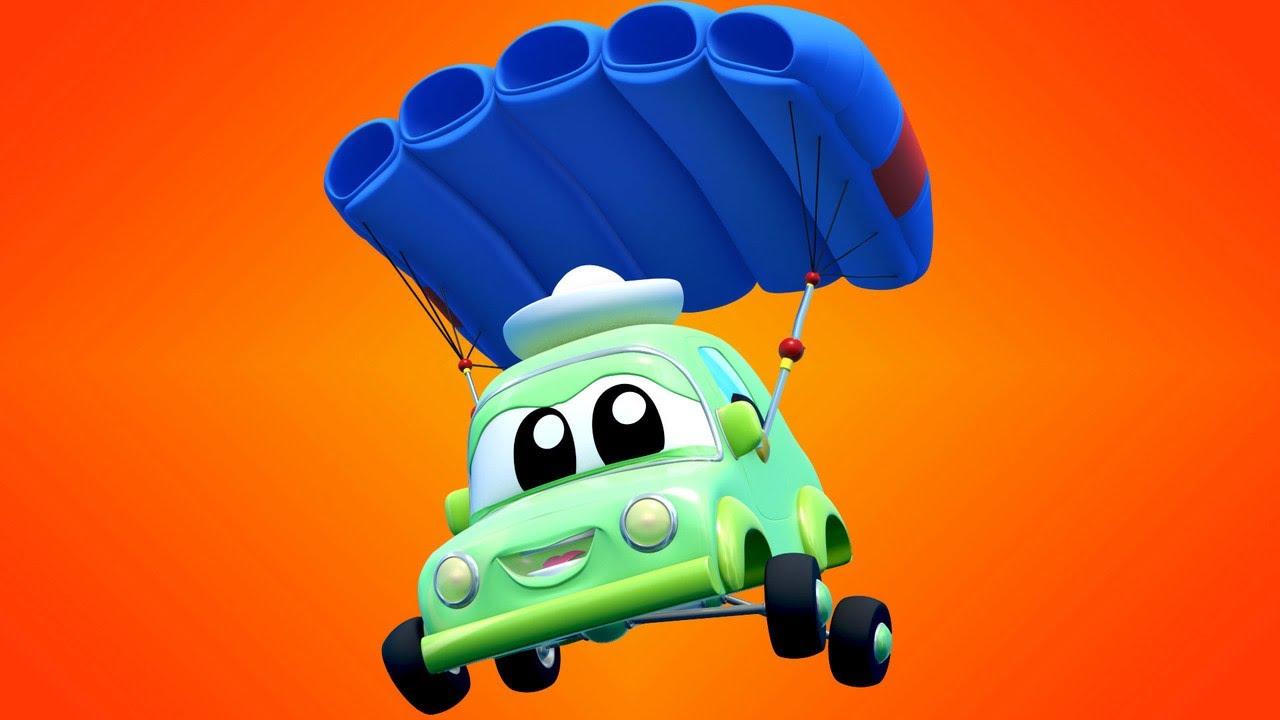 AUTO bebé PARACAIDAS | Super Camión | Car City World App