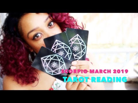 Scorpio~CAN YOU STOP DOING THAT NOW?!!! IT'S OBVIOUS March 2019 Tarot Reading