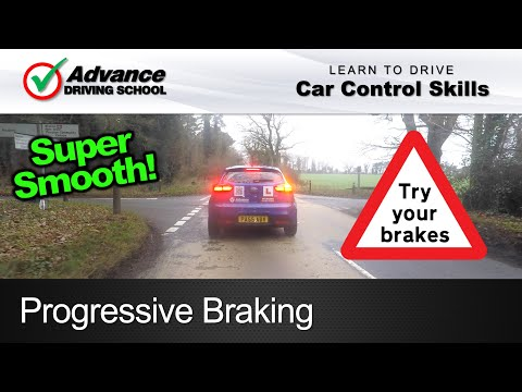 Progressive Braking  |  Learning to drive: Car control skills