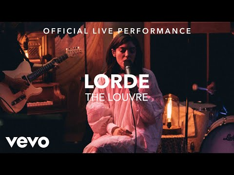 Lorde The Louvre Lyrics