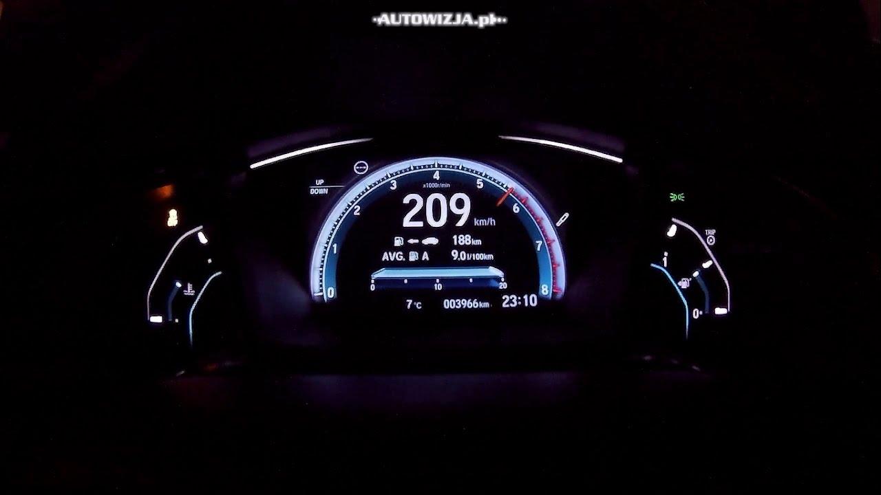 honda civic  vtec turbo  hp acceleration   kmh   kmh    top speed