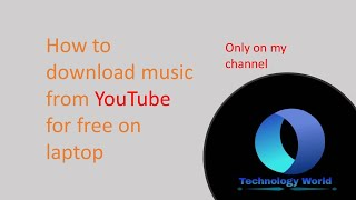 Download How to download songs on laptop easy and will help faster