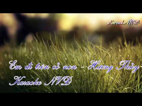 [Karaoke] Em đi trên cỏ non - Son ca