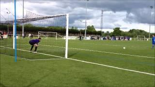 Coupe des Régions UEFA : Séance de tirs au but Centre/Rhône-Alpes (8tab7)