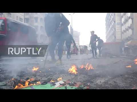 Iraq: Heavy clashes as security forces raid protest areas in Baghdad