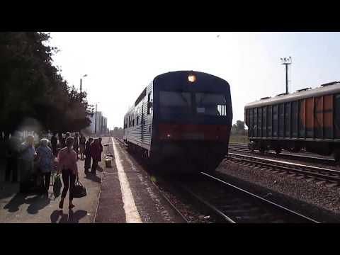 Атмосфера малодеятельного пригорода. АЧ2 на станции Дмитриев-Льговский.