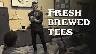 Tony Madalone Owner Of Fresh Brewed Tees Meet The Future Designers Of Cleveland