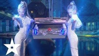 Алина Бондаренко и Настя Логинова - Україна має талант-6 - Пятый прямой эфир - 24.05.2014