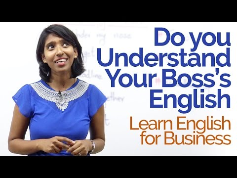 Understand Your Boss's English? – Learn Business English Vocabulary   Improve English Speaking.