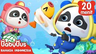 Tas Plastik Akan Membahayakan Keselamatan Hewan Laut   Lagu Anak   BabyBus Bahasa Indonesia