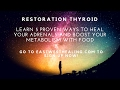 Restoration Thyroid: Body Temperature and Pulse