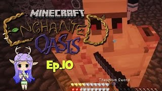 """DEATH BY CLAY"" Minecraft Enchanted Oasis Ep 10"