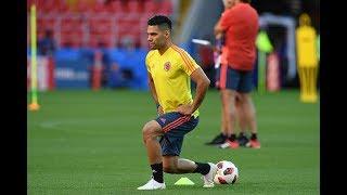 Entrenamiento de la Selección Colombia en Estados Unidos.