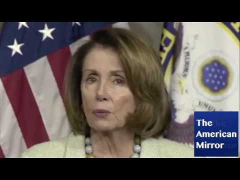 Nancy Pelosi suffers brain freeze -- while questioning Trump's 'fitness' for office!