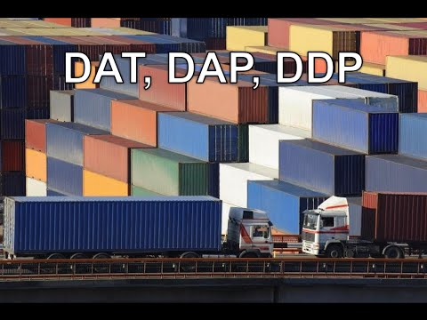 Incoterms Definitions DAT, DAP, DDP - Universal Shipping News
