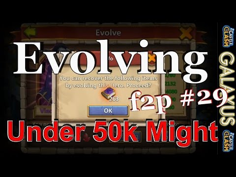 |:|f2p Episode #29|:| Fast Track To Evolution-Evo Lvl 200 Vlad @ 47k Might Lets Get It(Castle Clash)